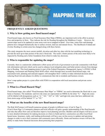 FEMA FAQ