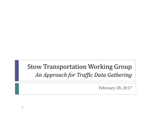 Transportation Working Group Cover